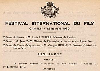 Partenariat EFAP Festival de Cannes