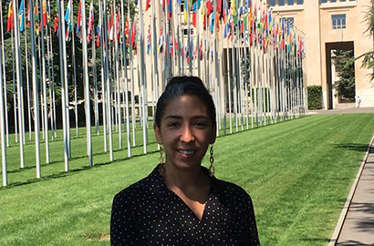 Emna Belgasmi, responsable communication au FAO à Rome.