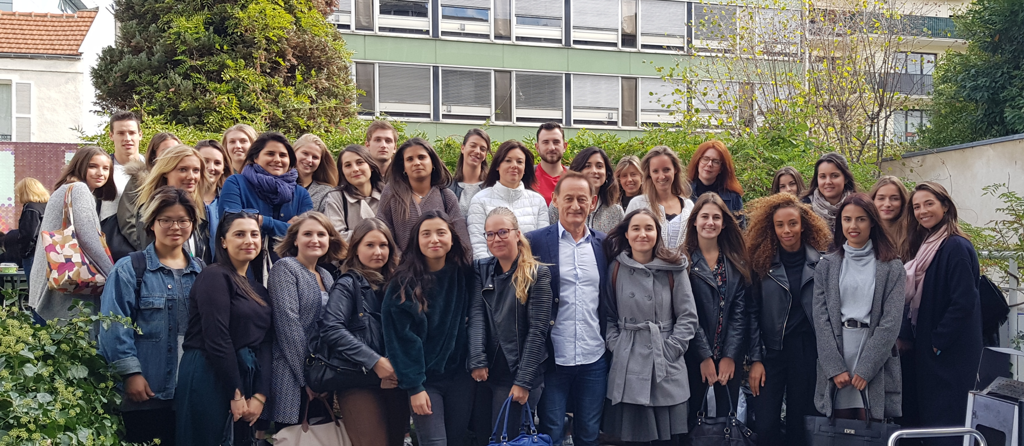 Master marketing de l'EFAP - Rentrée de la promotion 2019