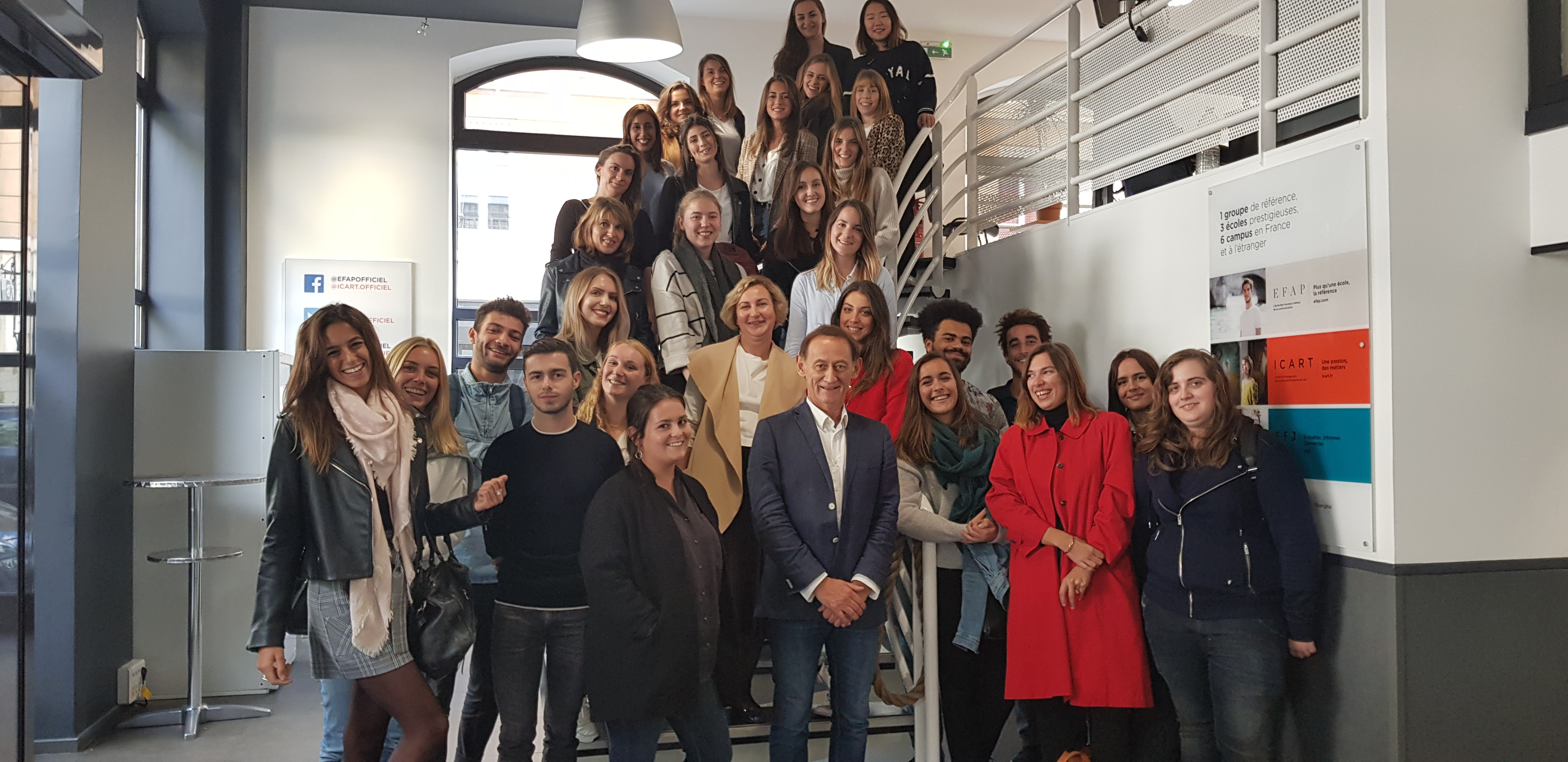Master marketing à Lyon - La rentrée de la promotion 2019