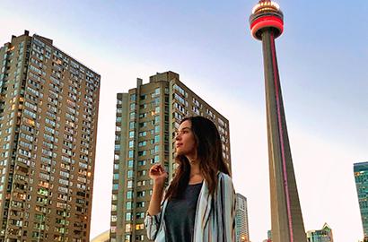 Faire ses études de communication à l'étranger comme Laura à Toronto