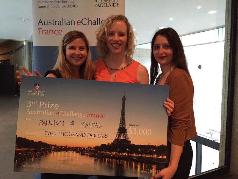 Médaille de Bronze de l'Australian eChallenge France pour les étudiants de la Spécialisation « Communication événementielle » de l'EFAP