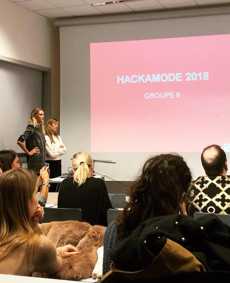 Hackamode : l'avenir de la mode avec les étudiants de l'école de communication EFAP Lille