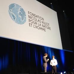 Nicolas Hulot partenaire fondation efap communication