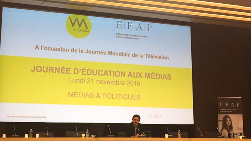 Face à la salle : Edwy Plenel, journaliste, Directeur de Médiapart