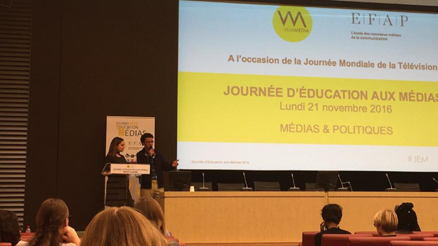 Témoignage de Hicham Mansouri, journaliste en exil en France d'origine marocaine (Maison des Journalistes)