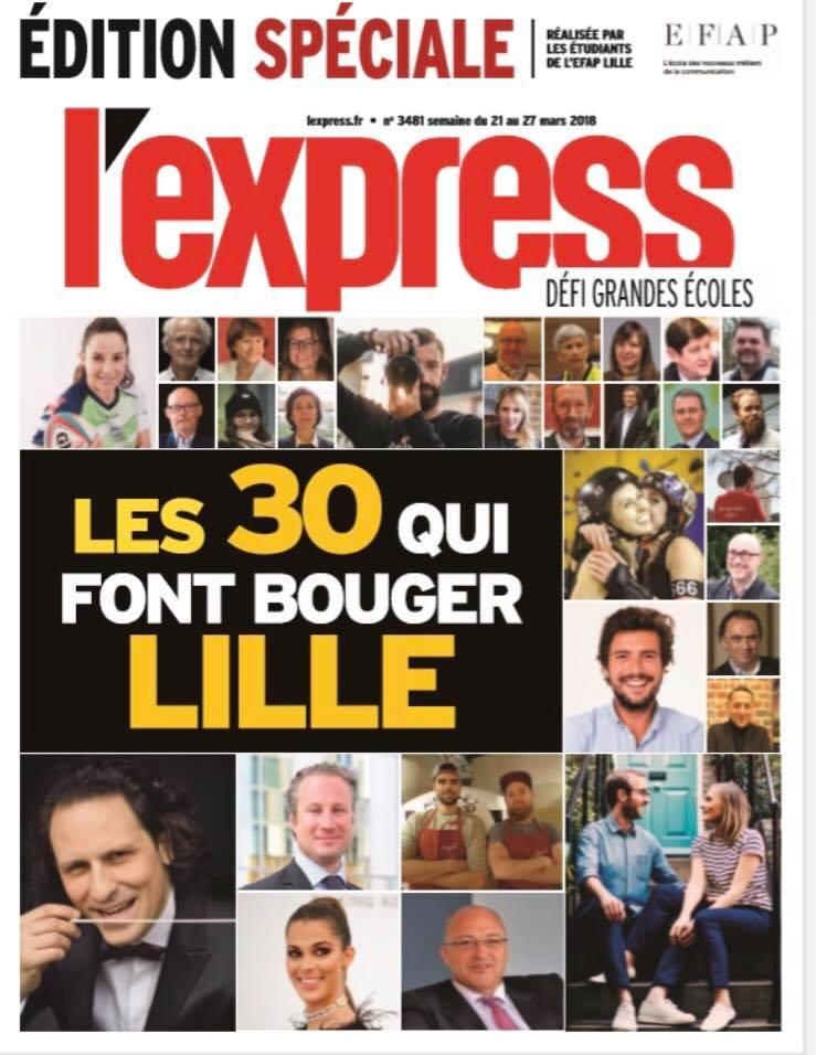 Defi l'Express - Grandes ecoles - EFAP Lille