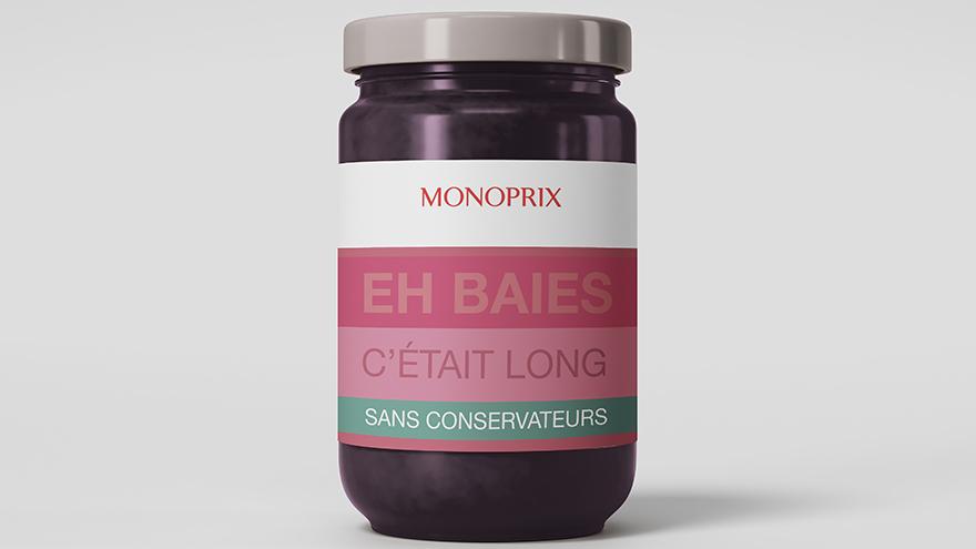 Création publicitaire pour Monoprix