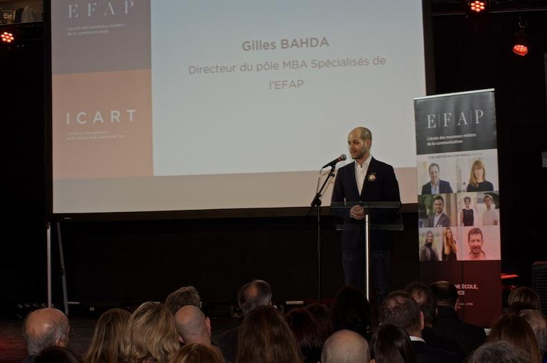 Gilles Bahda - Directeur des masters en communication de l'EFAP