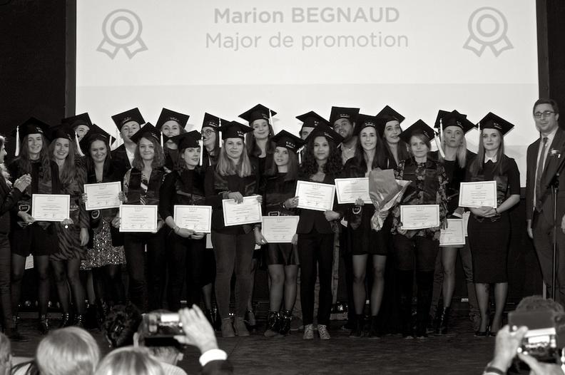 Remise de diplômes - Ecole de communication EFAP à Bordeaux