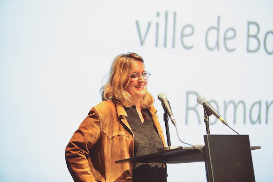 Mme. Marie-Laure Hubert Nasser, Directrice de la Communication de la Ville de Bordeaux, Marraine de la Cérémonie de Remise des Diplômes 2016 de l'EFAP Bordeaux