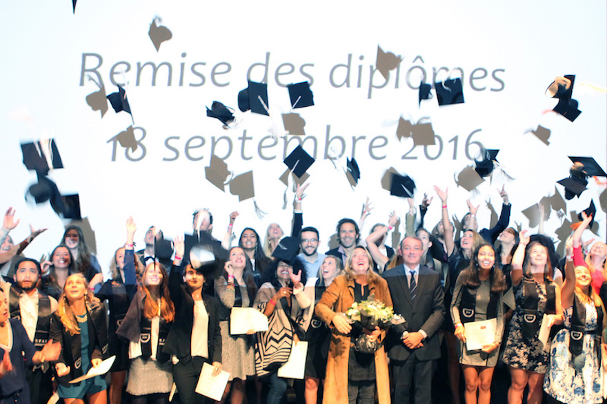 Félicitations aux nouveaux diplômés - promotion 2016 - de l'EFAP Bordeaux