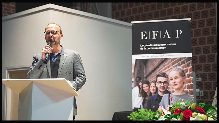 Vincent Montet, directeur du master digital - EFAP Lille