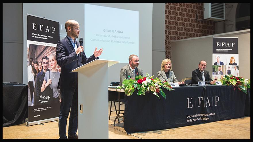 Gilles Bahda, Directeur du Master communication politique - EFAP Lille