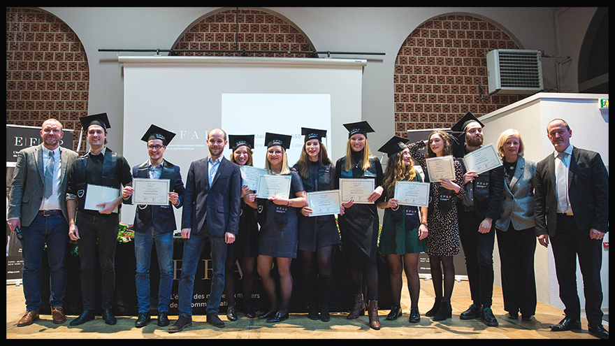 Promotion 2018 du master communication publique - EFAP Lille