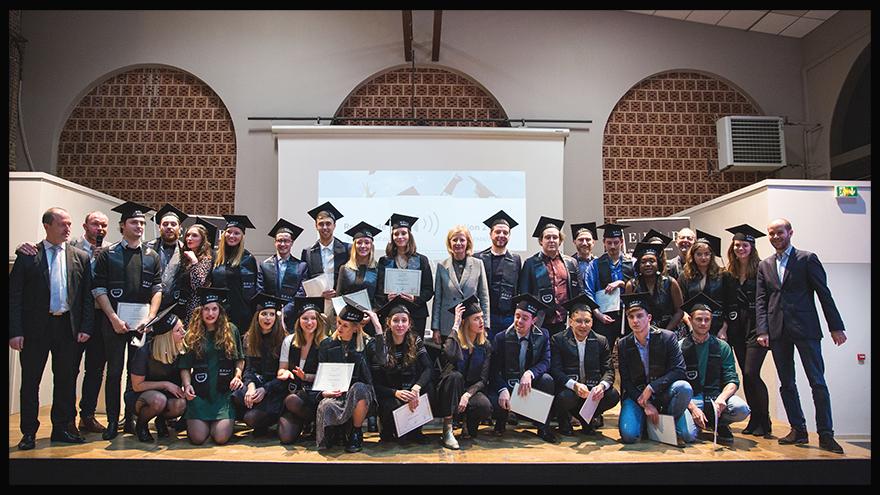 EFAP Lille - Promotion 2018 de l'école de communication