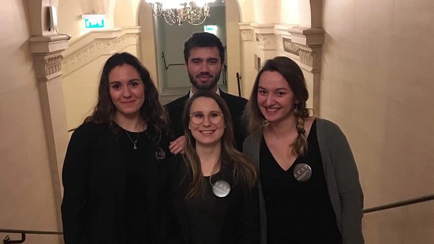 Les Toques Blanches Lyonnaise & les étudiants du master événementiel EFAP
