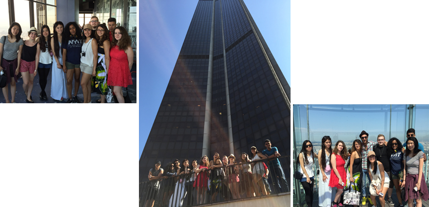 Visiting la Tour Montparnasse - Foreign students in EFAP Paris