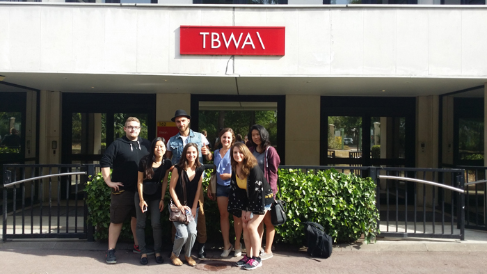 A corporate visit to the 3rd advertising agency in France = TBWA