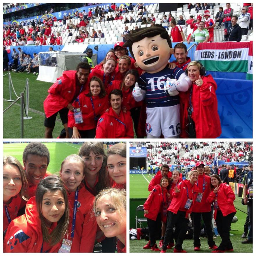 Les étudiants de l'EFAP volontaires de l'EURO 2016